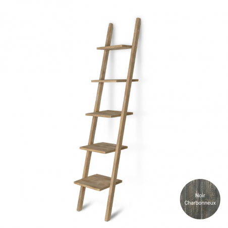 Wooden decorative ladder H180, Solid Wood