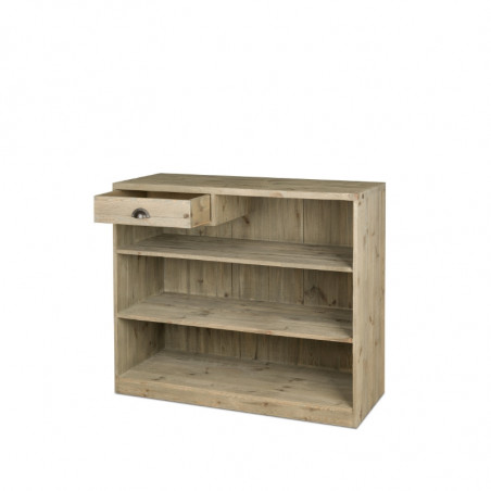 Wooden shop counter with drawer, Solid Wood