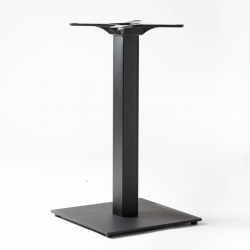 Pied de table carré, acier