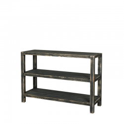 3-tier console table, solid...