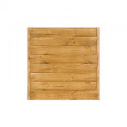 Plateau de table carré L80 cm, bois massif