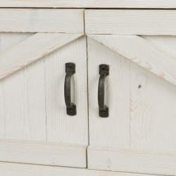 Étagère 8 casiers TRADIS en bois massif 2 portes
