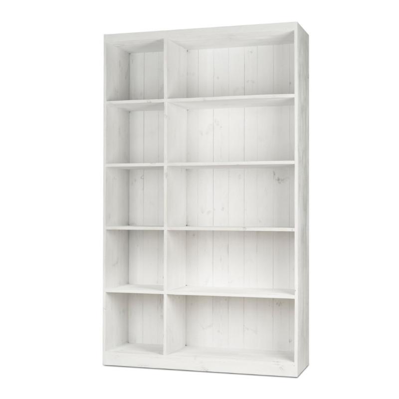 10-cube shelf unit, solid wood