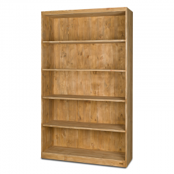 5-tier shelf unit, solid wood