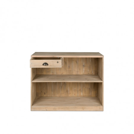 Retail shop counter, drawer with lock, Solid wood