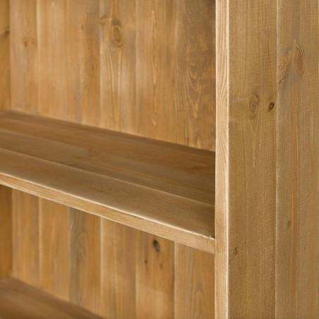Comptoir 2 niveaux norme PMR en bois massif