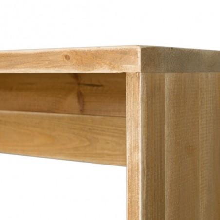 Comptoir de magasin norme PMR en bois massif