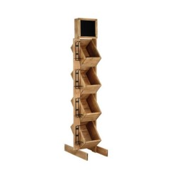 4-tier wine display rack...