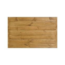 Plateau de table rectangulaire L110 en bois massif