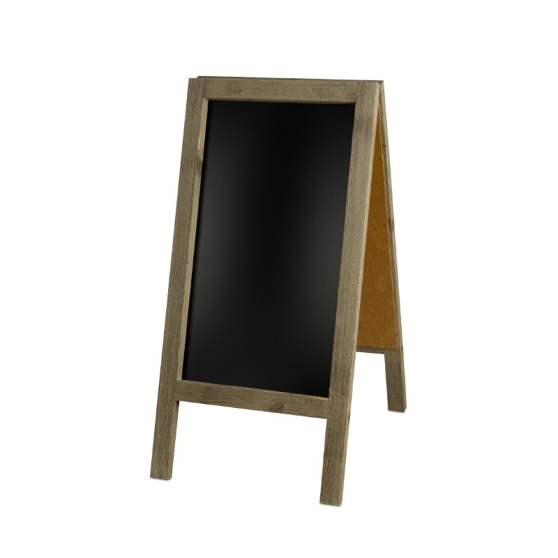 A-frame chaclkboard, Solid Wood