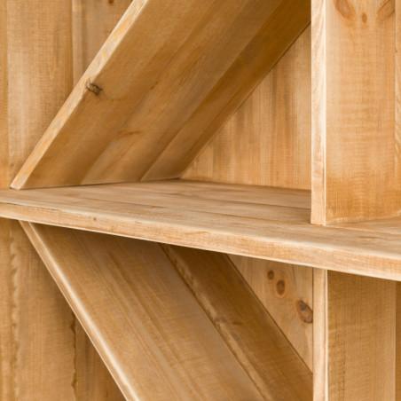 Wine rack H100, solid wood