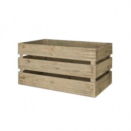 Wooden crate, Solid Wood