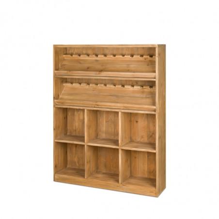 Wine rack H150, solid wood