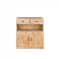 Buffet 2 drawers 2 doors, solid wood
