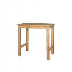 Rectangular high bar table, Solid Wood