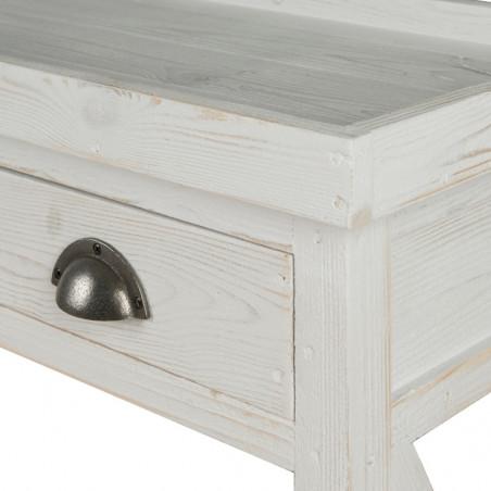 Table console fleuriste TRADIS en bois massif