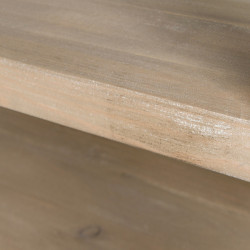 3-tier console table, solid wood