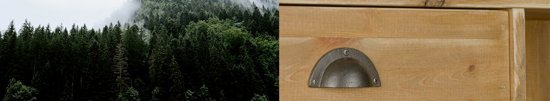 bois massif comptoir