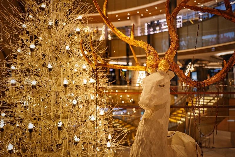 décoration noel doré